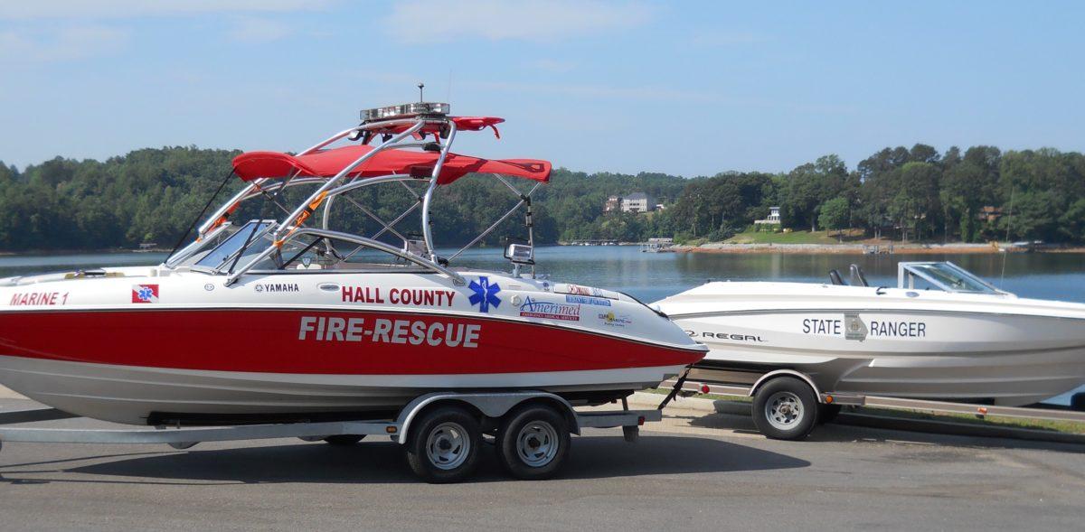 Incidents on Lake Lanier