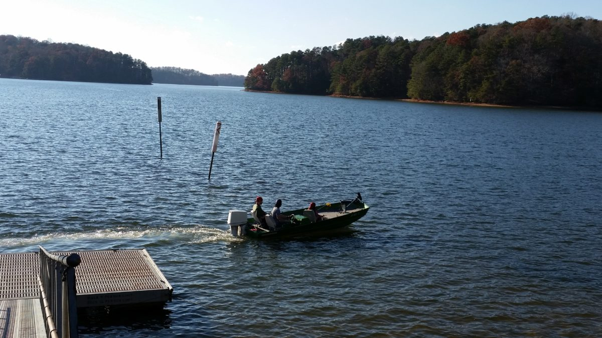 Best 7 spots to kayak in georgia gafollowers for Lake lanier fishing spots