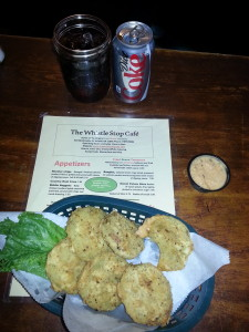 Fried Green Tomatoes at the Whistle Stop Restaurant in Juliet, GA. ~~ Photograph by Robert Sutherland