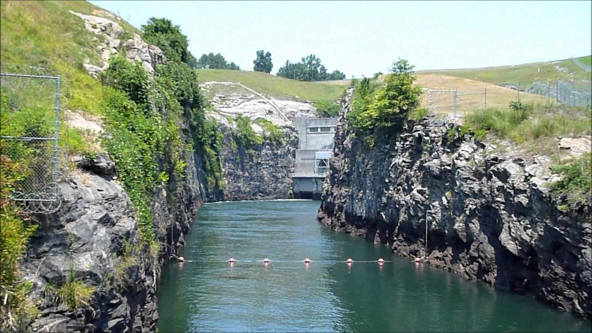 Buford Dam Park On Lake Lanier