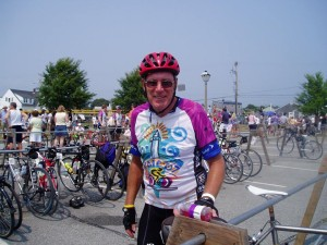 PMC Bike Rider and Heavy Hitter Bill Finan