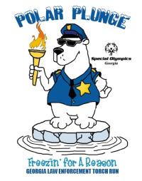 2012 Lake Lanier Polar Plunge Logo