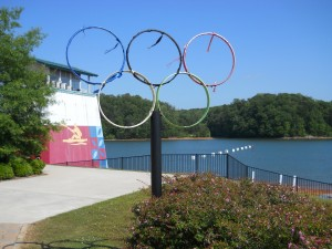 Lake Lanier's Rowing Venue -- Site of the 1996 Olympics ~~ (Photo: Robert Sutherland)
