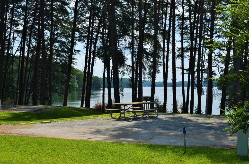 Campgrounds on Lake Lanier