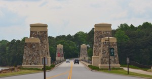 The Bridge to Lake Lanier Islands ~~ Photograph by Robert Sutherland