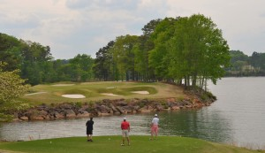 Golf is a game you cannot win -- only play -- except at Lake Lanier Islands. ~~ Photograph by Robert Sutherland
