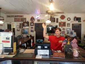 Y'all come back for more Fried Green Tomatoes at the Whistle Stop Restaurant in Juliet, GA. ~~ Photograph by Robert Sutherland