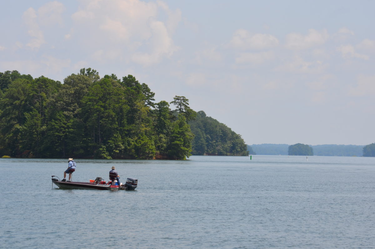 Holly park on lake lanier for Lake lanier fishing spots