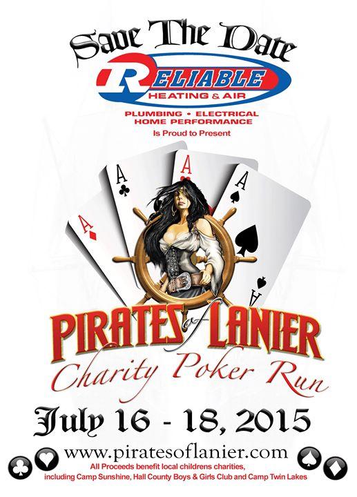 Lake lanier pirate poker run 2015