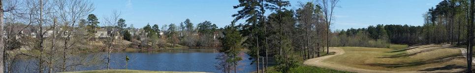Golf on Lake Lanier