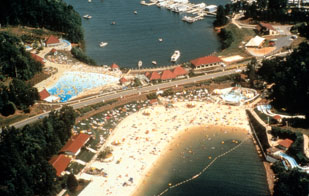 The Beach And Waterpark At Lake Lanier Islands Has Numerous Attraction For Kids